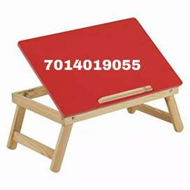 New wooden folding laptop table