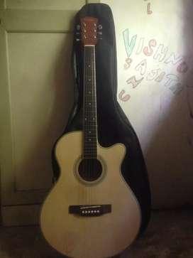 guitar cadanza new + capo + 2 pick+ bill paper