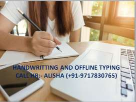 HANDWRITING JOBS AVAILABLE FOR BOYS AND GIRLS