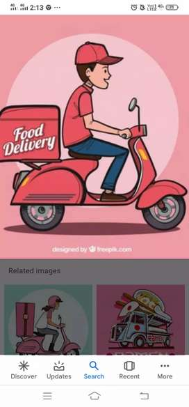 Urgent requirement for delivery boy in swiggy co.