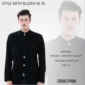 Blazer Pria Stylish Korean Style - (SK-35)