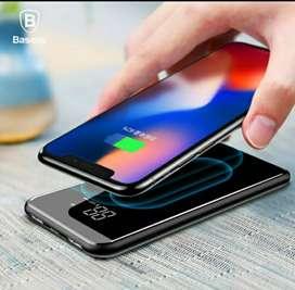 Baseus Qi wireless charging 2 port 8000Mah