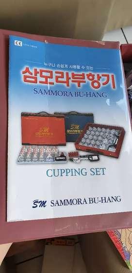 Alat kop bekam cupping set korea SAMMORA BU - HANG