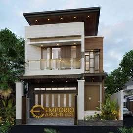 Jasa Arsitek Surabaya Desain Rumah 280m2