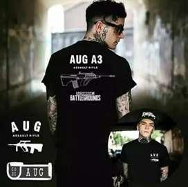 Stuffaddict T-shirt PUBG AUG A3
