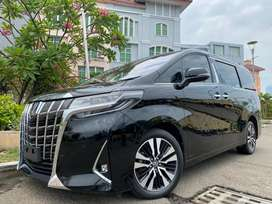 Alphard 2.5 X ATPM 2018 New Model Black Km30rb #AUTOHIGH #MUST HAVE