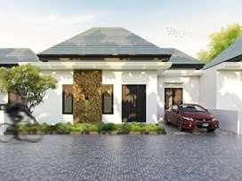 Rumah modern tropical minimalis kota Denpasar