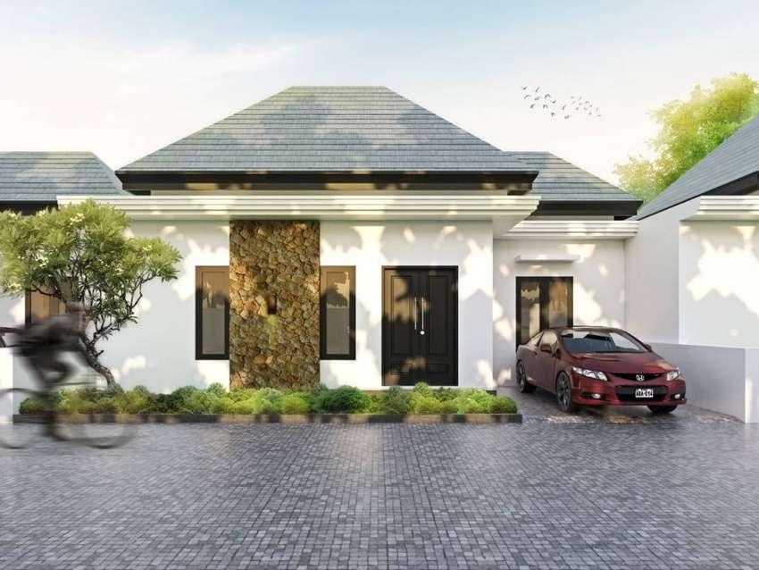 Rumah tropical minimalis kota Denpasar 0