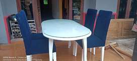 Set kursi makan empuk