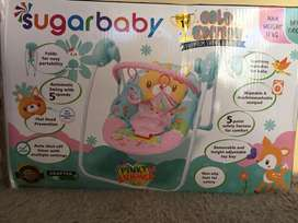 Sugar Baby Premium Swing Bouncer Pinky Summer