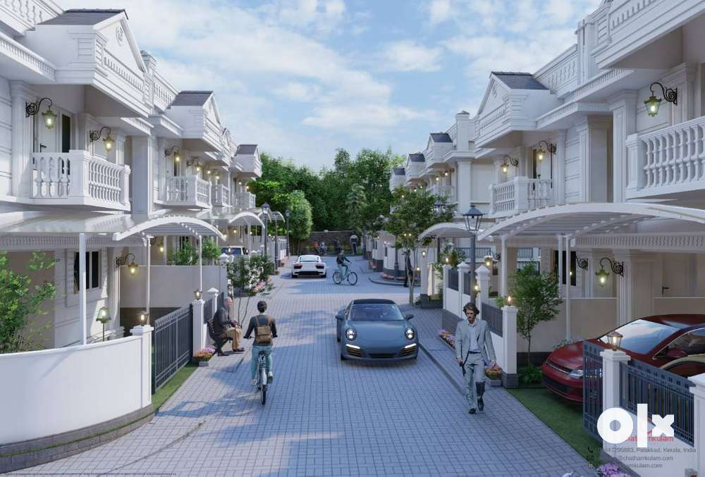 facilities of gated community 2 & 3 bhk palakkad