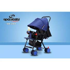 space baby stroller new