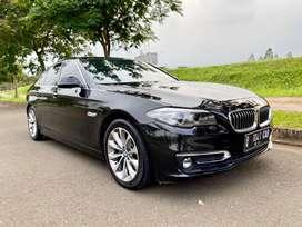 BMW 520i Nik 2015/2016 Warranty ON Facelift Modern Luxury F10 Black