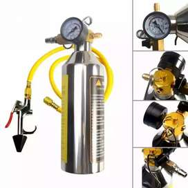Auto Repair AC Cleaner Wash  Tool A/C Car Pipe Flush Canister