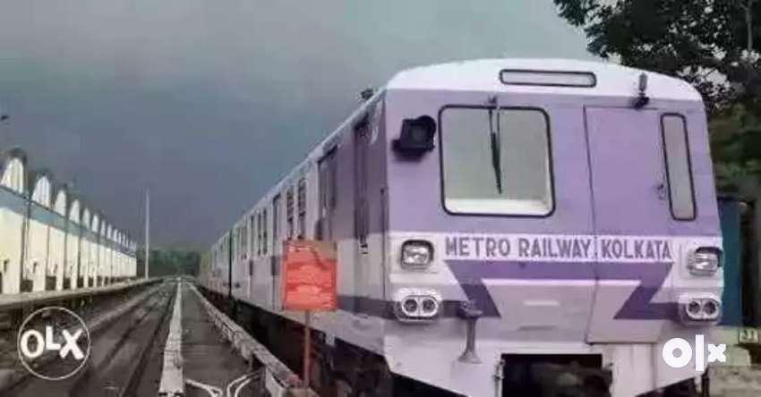 Urgently joining in Kolkata metro railway job contact now 86959,68964 0