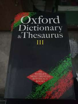 Oxford Dictionary and Thesauras