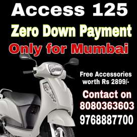 Access 125 on Zero Down payment