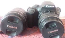 Canon 1500D With Dual Lense