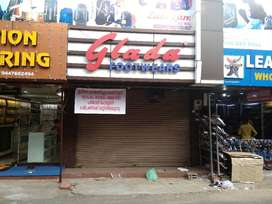 Located in PP Jose road, a significant shopping area in changanachery
