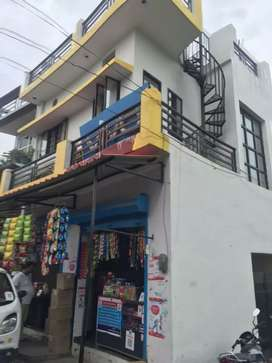 2 shops & 1 room with kitchen ,bathroom and 2- wheeler parking.