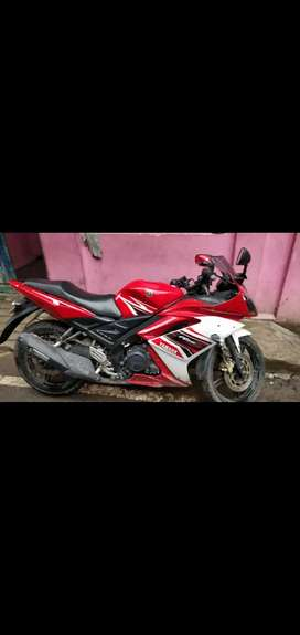 Yamaha R15 red colour it's very urgent sales