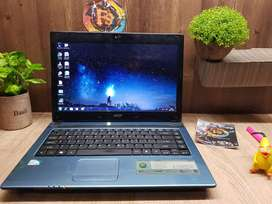 Laptop Acer 4752z murah gas UNBK
