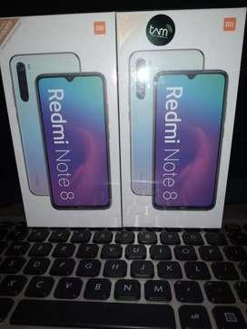 Xiaomi Redmi NOTE 8 6/128 Resmi BARU/ANYAR 100%