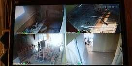Promo paket cctv 4 kamera 2mp murmer kualitas sudah terjamin