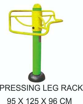 Alat Fitness Outdoor Pressing Leg Rack Murah