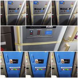 DOUBLE DOOR FRIDGE IN BEST QUALITY\WORKING WITH FREE DELIVERY
