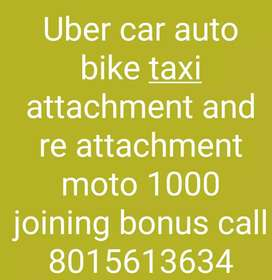 Uber car attachment