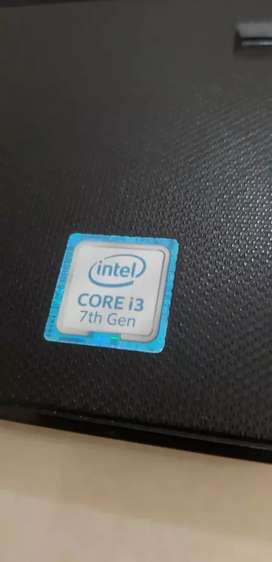 Laptop core i3 Gen 7