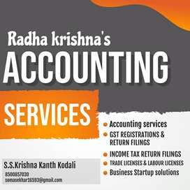 Radhakrishna's accounting & Taxation services