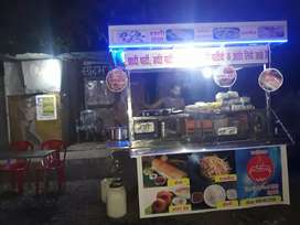 Steel Stall For Dosa Chinese work