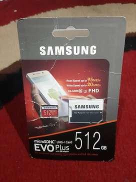 SD Card Samsung 512gb (edisi turun harga, penghabisan)