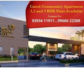 At PATANCHERU Apartment Flats available