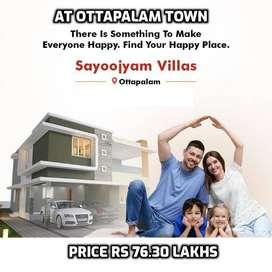 Ottapalam's Premium gated Community Villas- Price Rs 76.3 Lakhs