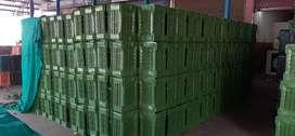 150/- Rs Per piece HD PLASTIC CRATES 3000 Quantity