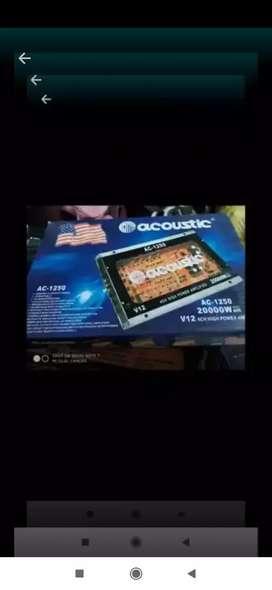 Power acoustic Ac 1250