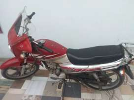 125cc self start heavy sports bike for sale or exchange