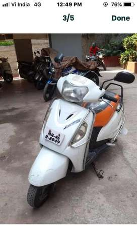 New battry 1saal ka inshorans like new bike