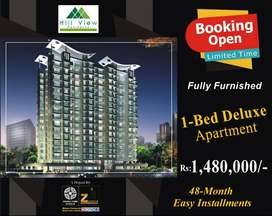 1200 Sq Ft 2 Bed Apartment in Hill View Residency