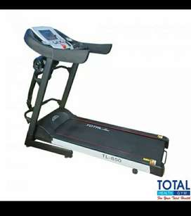 Alat fitnes gym treadmill elektrik big treadmil tl 650 promo