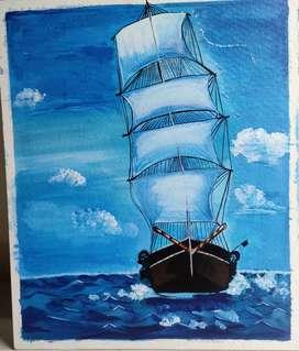 Hand Made Acrylic Painting