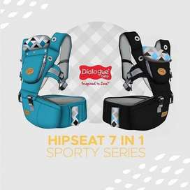 gendongan dialogue hipseat 7 in 1 sporty series