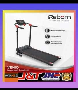 Alat fitness treadmill elektrik murah cod promo