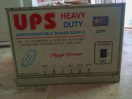 DC - Ac inverter Heavy duty Ups rechargeable ( Excellent Condition)