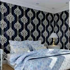 Wallpaper dinding wallpaper elegant DL458