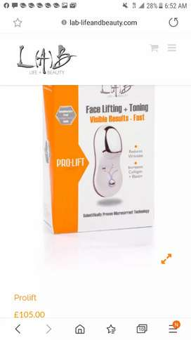 Anti Ageing reduce wrinkles facial tone L(A)B Pro-Lift Stock clearance