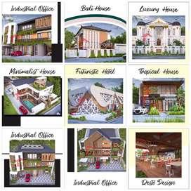 ribuan karya kami,arsitek/desain rumah pengalaman 16 th di Batam